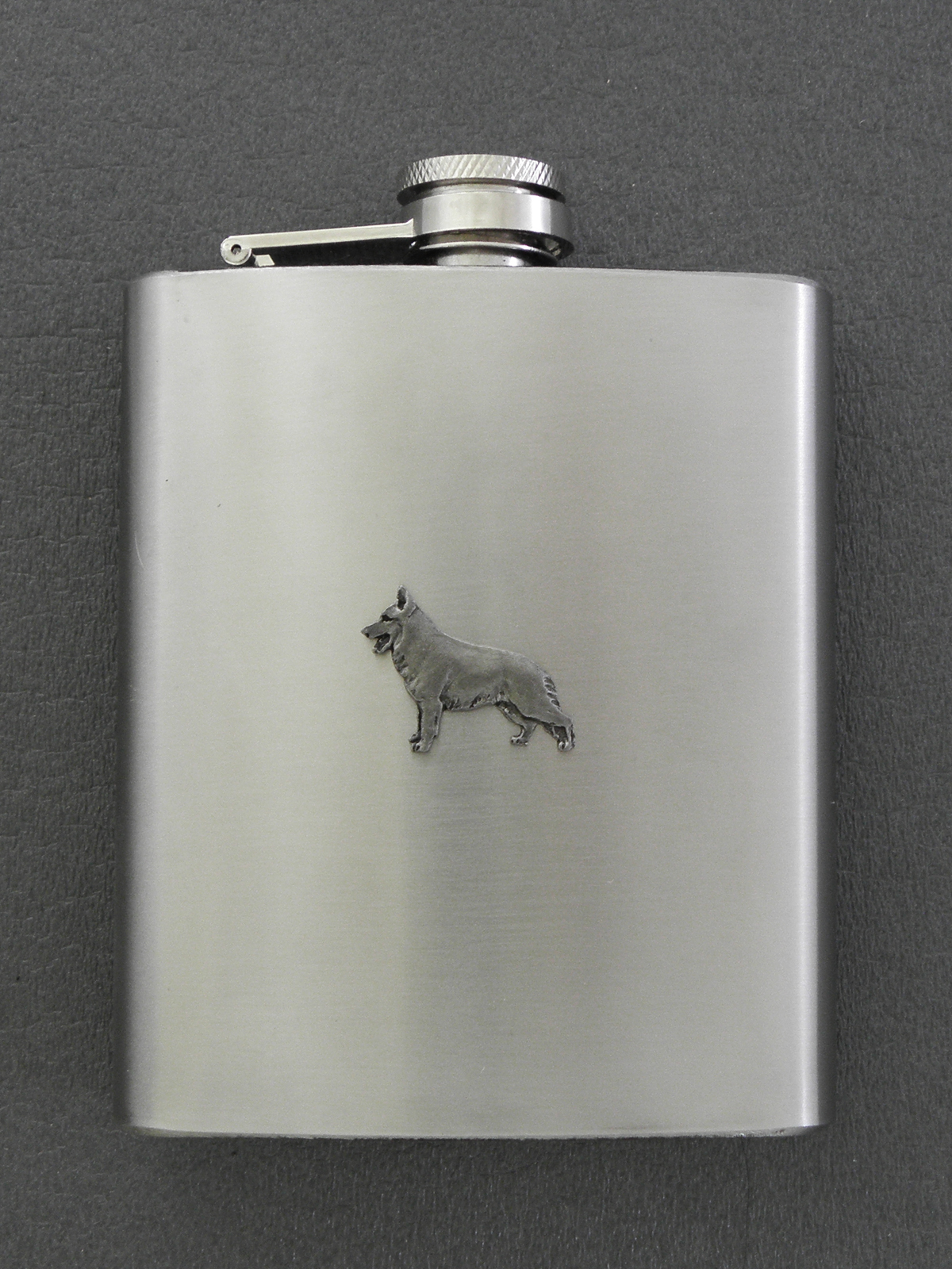 German Shepherd - Hip Flask Figure