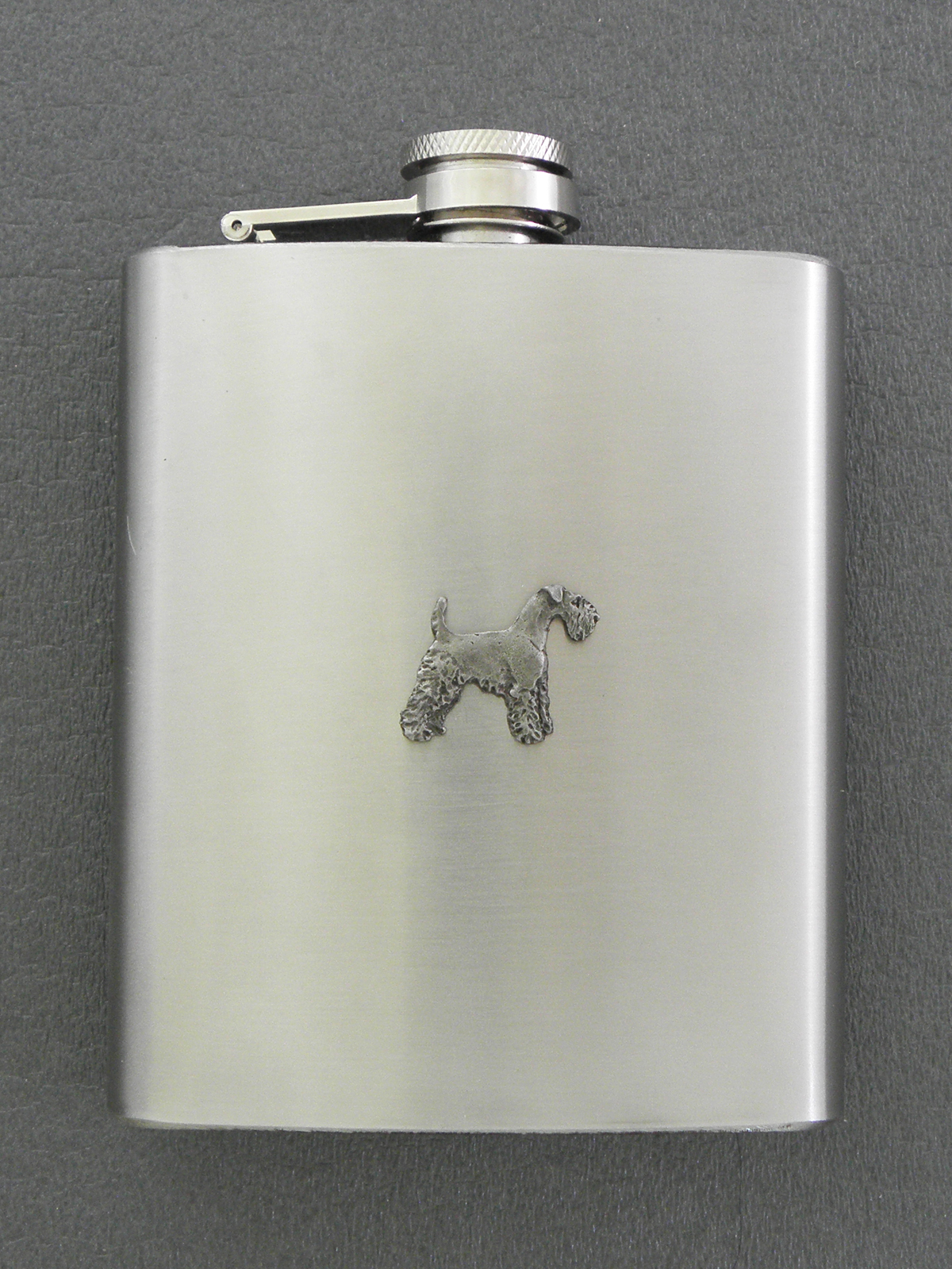 Irish Terrier - Hip Flask Figure
