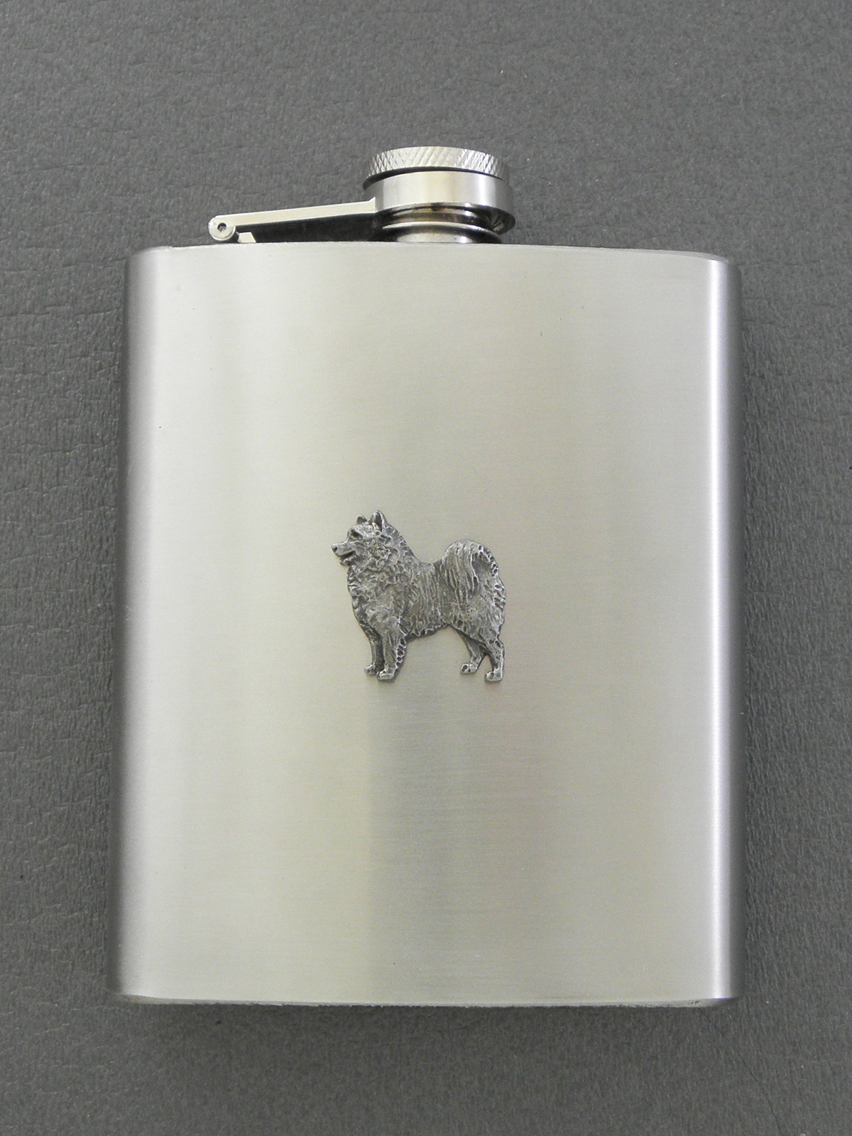 Samoyed - Hip Flask Figure