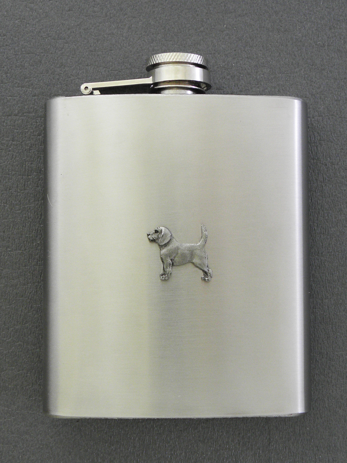 Beagle - Hip Flask Figure