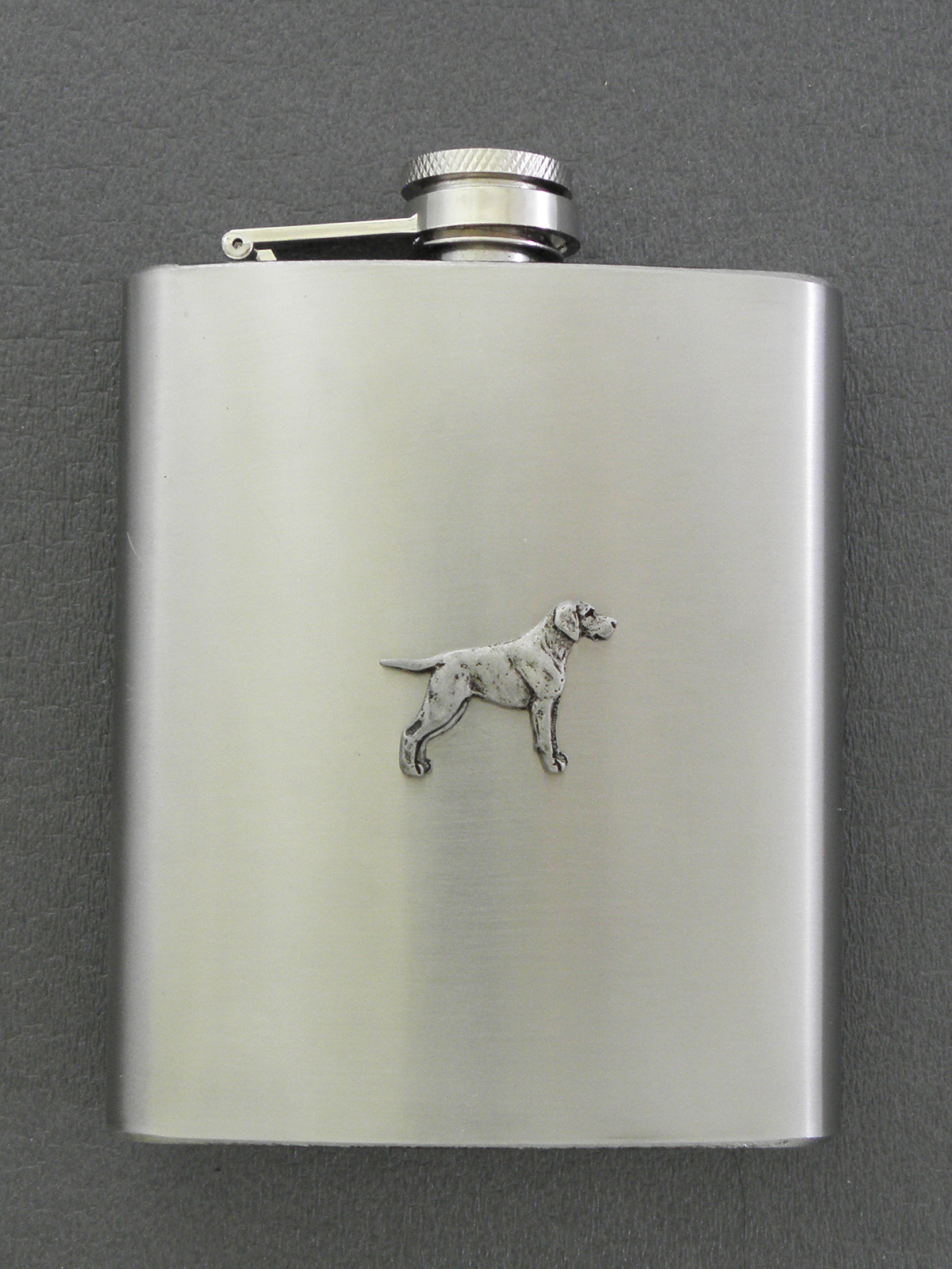 German Shorthaired Pointer - Hip Flask Figure