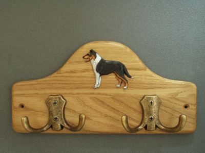 Collie Smooth - Leash Hanger Figure