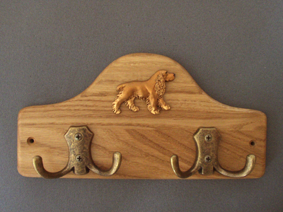 English Cocker Spaniel - Leash Hanger Figure