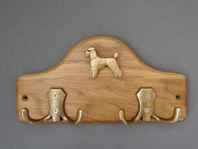 Poodle Sport - Leash Hanger Figure