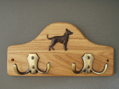 Mexican Hairless - Leash Hanger Figure