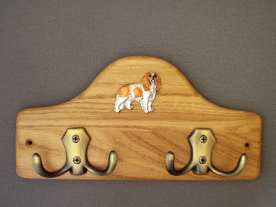 Cavalier King Charles Spaniel - Leash Hanger Figure