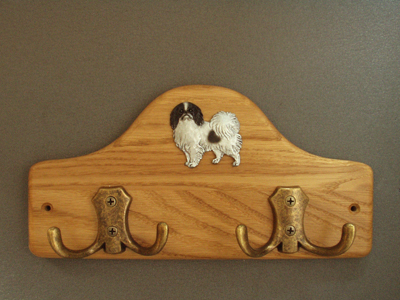 Japanese Chin - Leash Hanger Figure