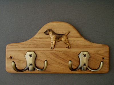 Border Terrier - Leash Hanger Figure