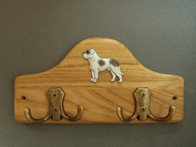 American Bulldog - Leash Hanger Figure