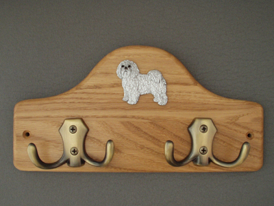 Bolognese - Leash Hanger Figure
