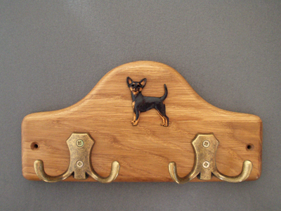 Prague Ratter - Leash Hanger Figure