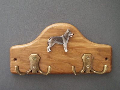Czechoslovakian wolfdog - Leash Hanger Figure