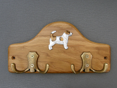 Jack Russell Terrier Broken - Leash Hanger Figure