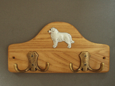 Kuvasz - Leash Hanger Figure