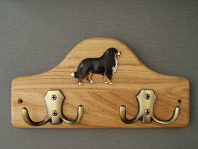 Bernese Mountain Dog - Leash Hanger Figure