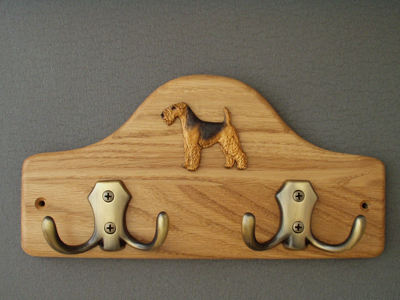 Welsh Terrier - Leash Hanger Figure