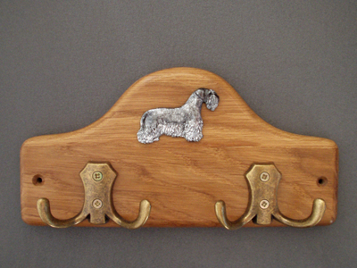 Bohemian Terrier - Leash Hanger Figure