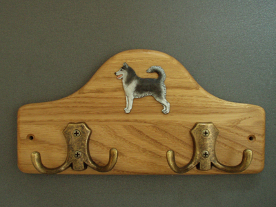 Siberian Husky - Leash Hanger Figure