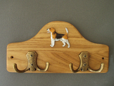 Beagle - Leash Hanger Figure