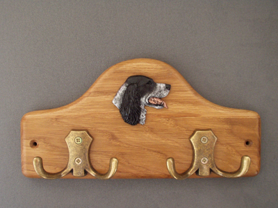 English Setter - Leash Hanger Head