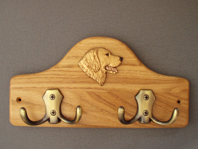 Golden Retriever - Leash Hanger Head