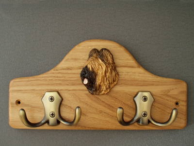 Briard - Leash Hanger Head