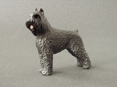 Bouvier Des Flandres Maxi Model Milan Orm Dog Art