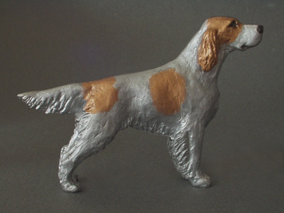 Irish Red & White Setter - Maxi Model