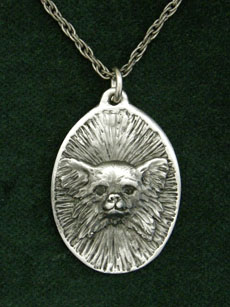 Chihuahua Longhaired - Medallion