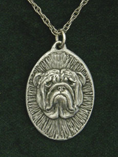 English Bulldog - Medallion