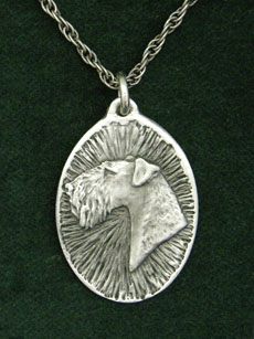 Airedale Terrier - Medallion