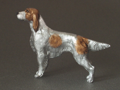 Irish Red & White Setter - Mini Model