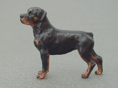 Rottweiler - Mini Model | Milan Šorm Art Shop