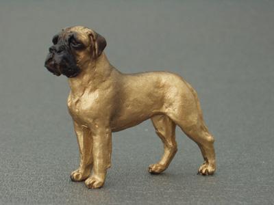 Bullmastiff Mini Model Milan Orm Dog Art Shop Dogs