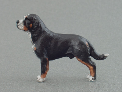 Large Swiss Mountain Dog - Mini Model