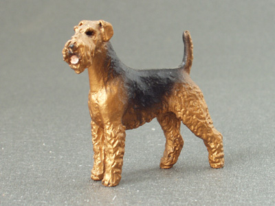 Airedale Terrier - Mini Model