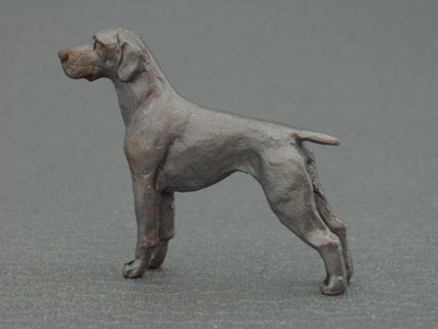 Weimaraner Mini Model Milan Orm Dog Art Shop Dogs