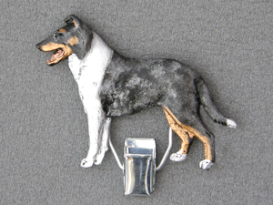 Collie Smooth - Number Card Clip