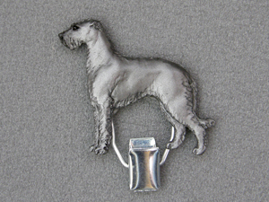 Scotish Deerhound - Number Card Clip