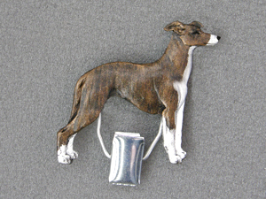 Whippet - Number Card Clip