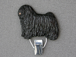Puli Number Card Clip Milan Orm Dog Art Shop Dogs