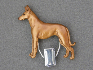 Pharaoh Hound - Number Card Clip