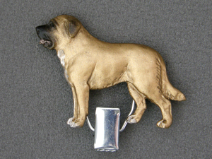 Spanish Mastiff - Number Card Clip