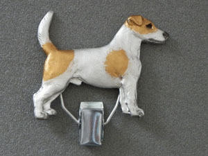 Jack Russell Terrier - Number Card Clip
