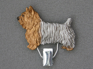 Silky Terrier - Number Card Clip