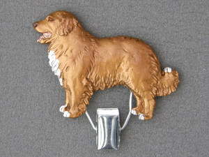 Nova Scotia Duck Tolling Retriever - Number Card Clip