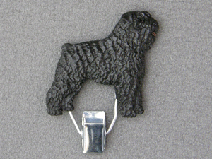 Bouvier des Flandres - Number Card Clip