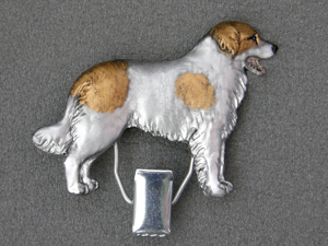Czech Mountain Dog - Number Card Clip