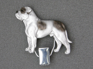 American Bulldog - Number Card Clip
