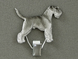 Schnauzer - Number Card Clip